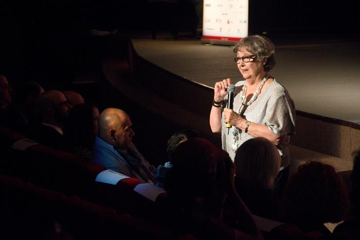 Čestná riaditeľka festivalu Cinematik Božidara Turzonovová