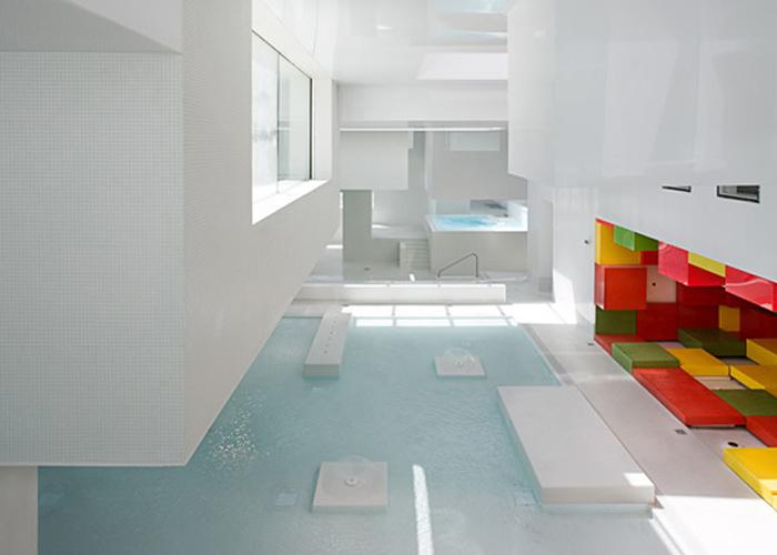 Prístavné kúpele, Le Havre, Autor: Jean Nouvel Foto: Petr Šmídek Zdroj: archiweb.cz