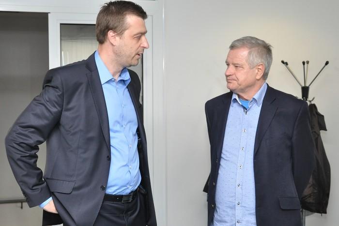 Miloš Tamajka a Zdeněk Zemek (vpravo)