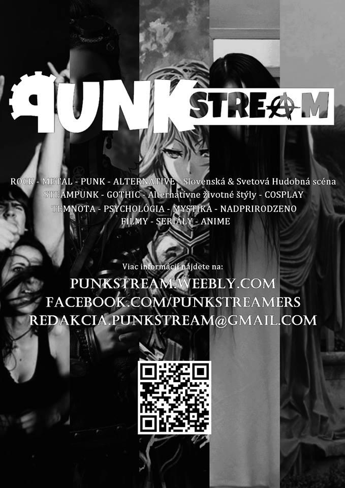 Chceš podporiť Punkstream? Pripravili sme špeciálny plagát. Keďže je čiernobiely, tak aj ty nás môžeš podporiť. Stačí ho len vytlačiť a zavesiť napríklad na školskej nástenke. Fotku s tým ako visí plagát na vašej nástenke určite privítame v našich správach alebo ho len pridaj na našu facebookovú stránku.