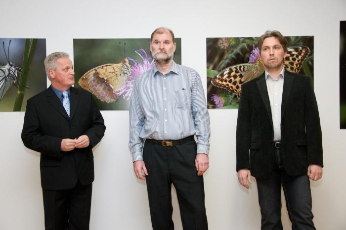 Zľava: Martin Valo, Roman Tibenský, Tomáš Hudcovič