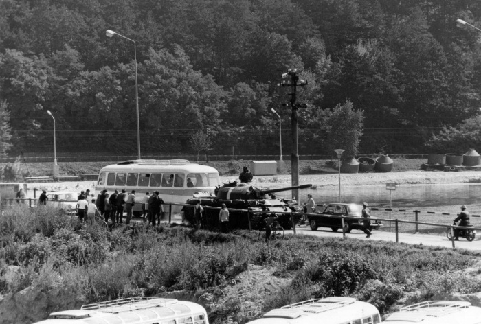 August 1968. Pridal: Martin Valo. Zdroj: Piešťany - History