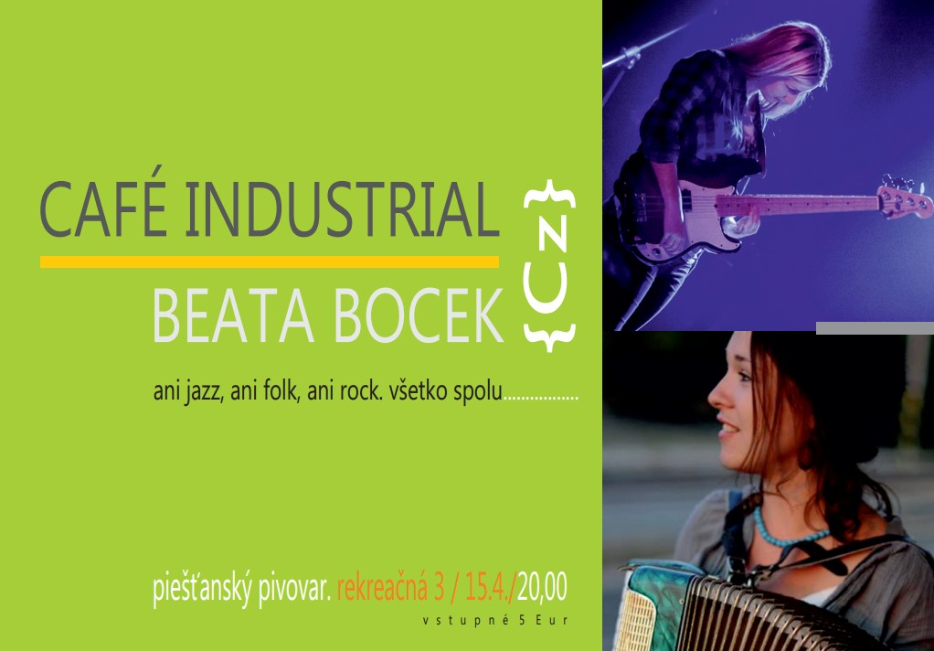 cafe industrial beata bocek pivovar