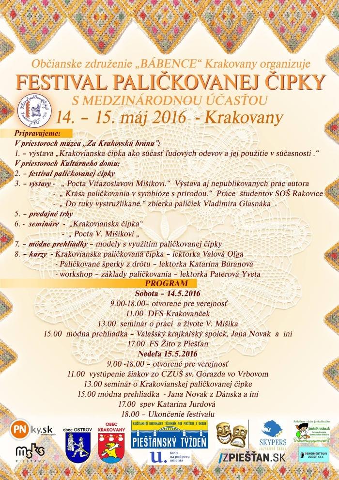 festival palickovanej cipky