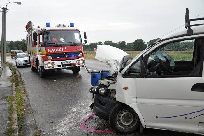 hasici nehoda